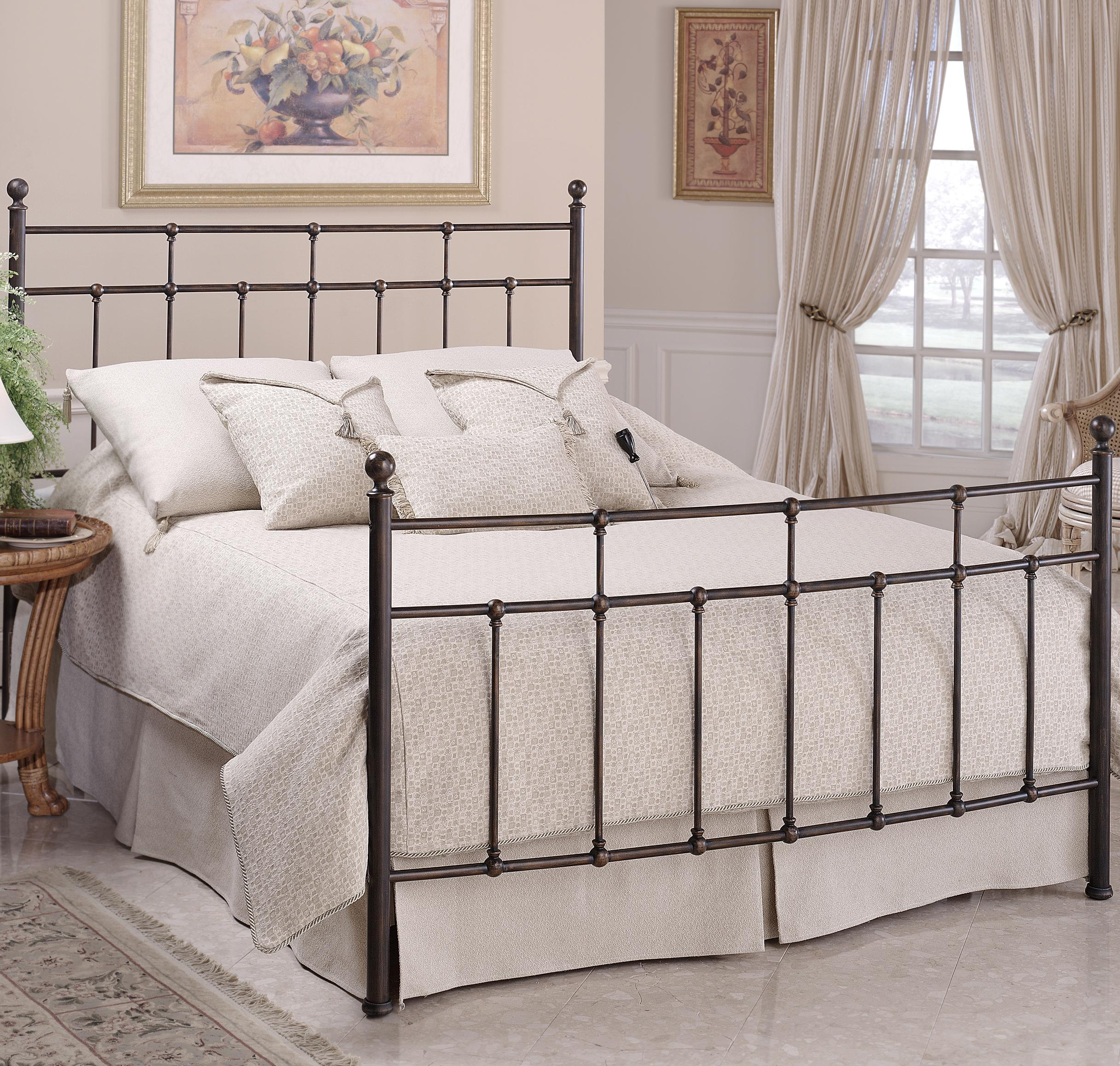 Metal Beds King Providence Bed by Hillsdale at Steger's Furniture