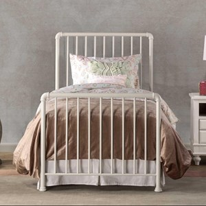 Simple Metal Full Bed Set, Frame Not Included