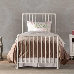 Simple Metal Twin Bed Set with Frame