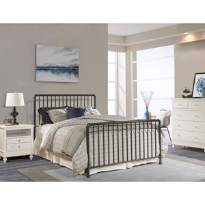 Metal Twin Bed Set - Frame not Included