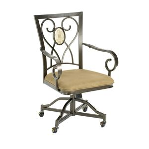 Hillsdale Brookside Oval Caster Chair