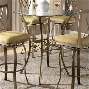 Hillsdale Brookside Bar Height Bistro Table