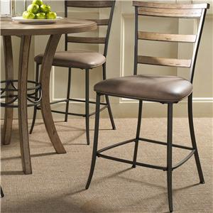 Hillsdale Charleston Ladder Back Non-Swivel Stool