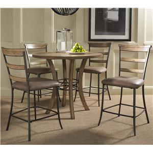 Hillsdale Charleston 5 Piece Pub Set