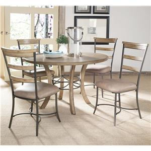 Hillsdale Charleston 5 Piece Dining Set