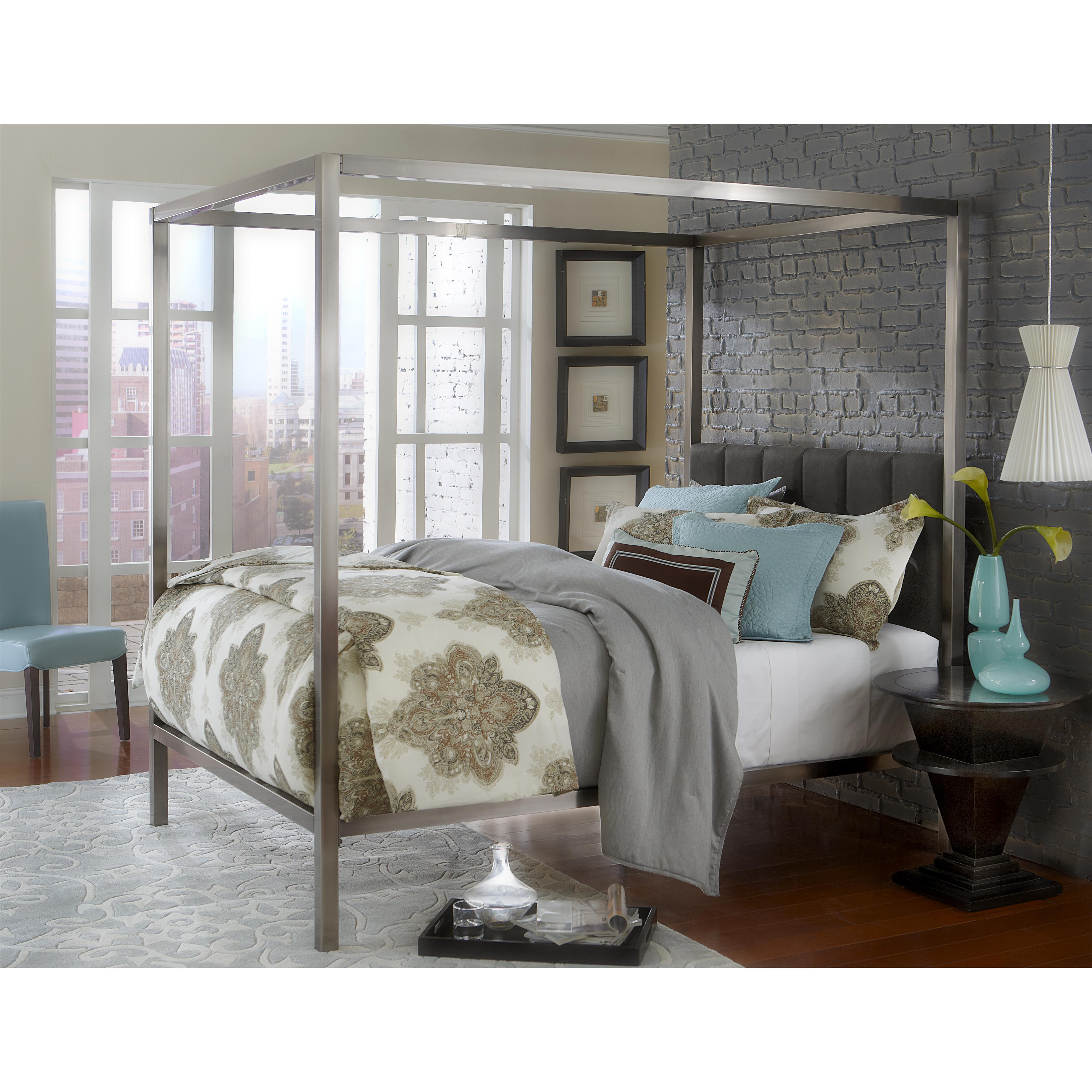 Chatham Queen Bed Set w/ rails by Hillsdale at Mueller Furniture