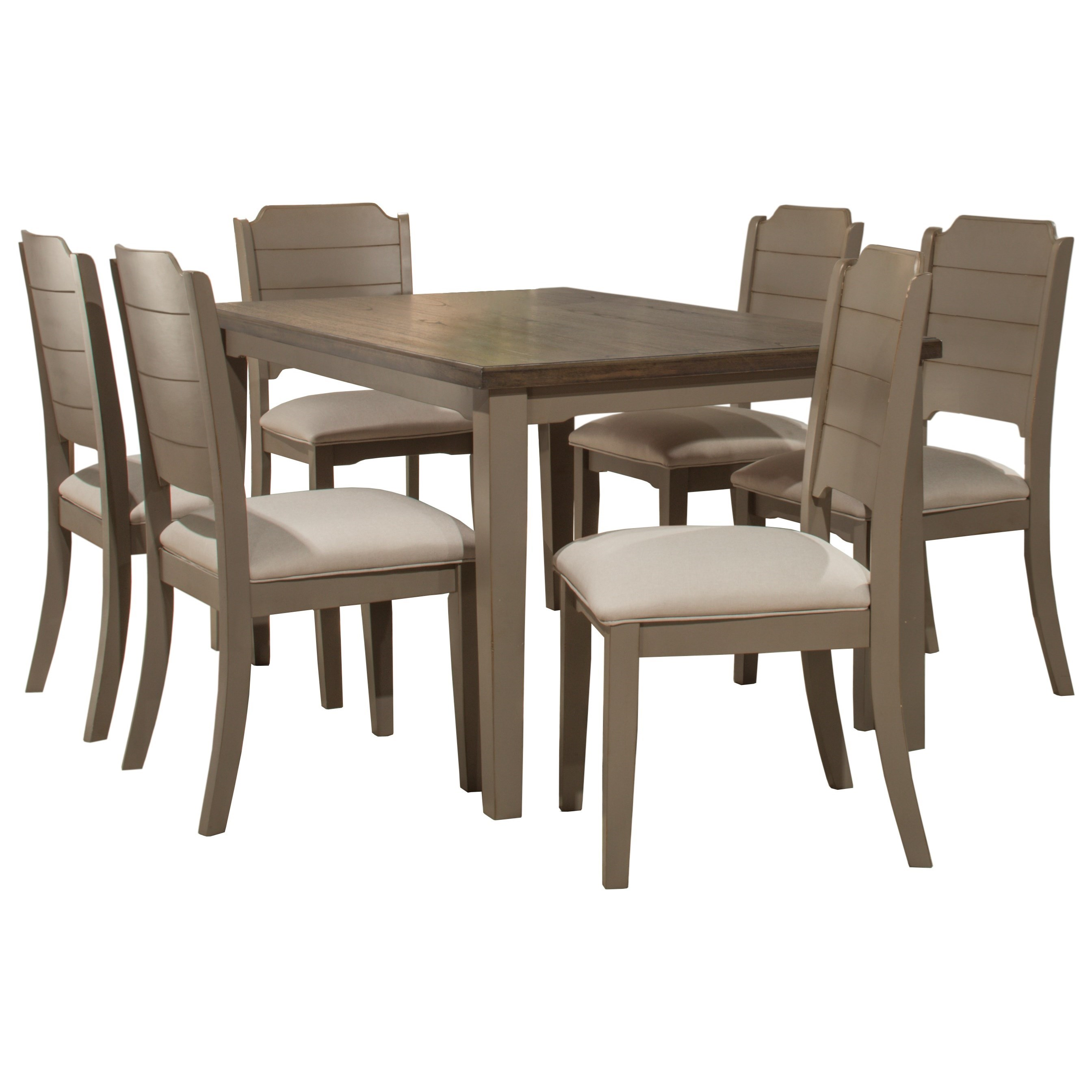 Clarion 7-Piece Dining Set by Hillsdale at Mueller Furniture