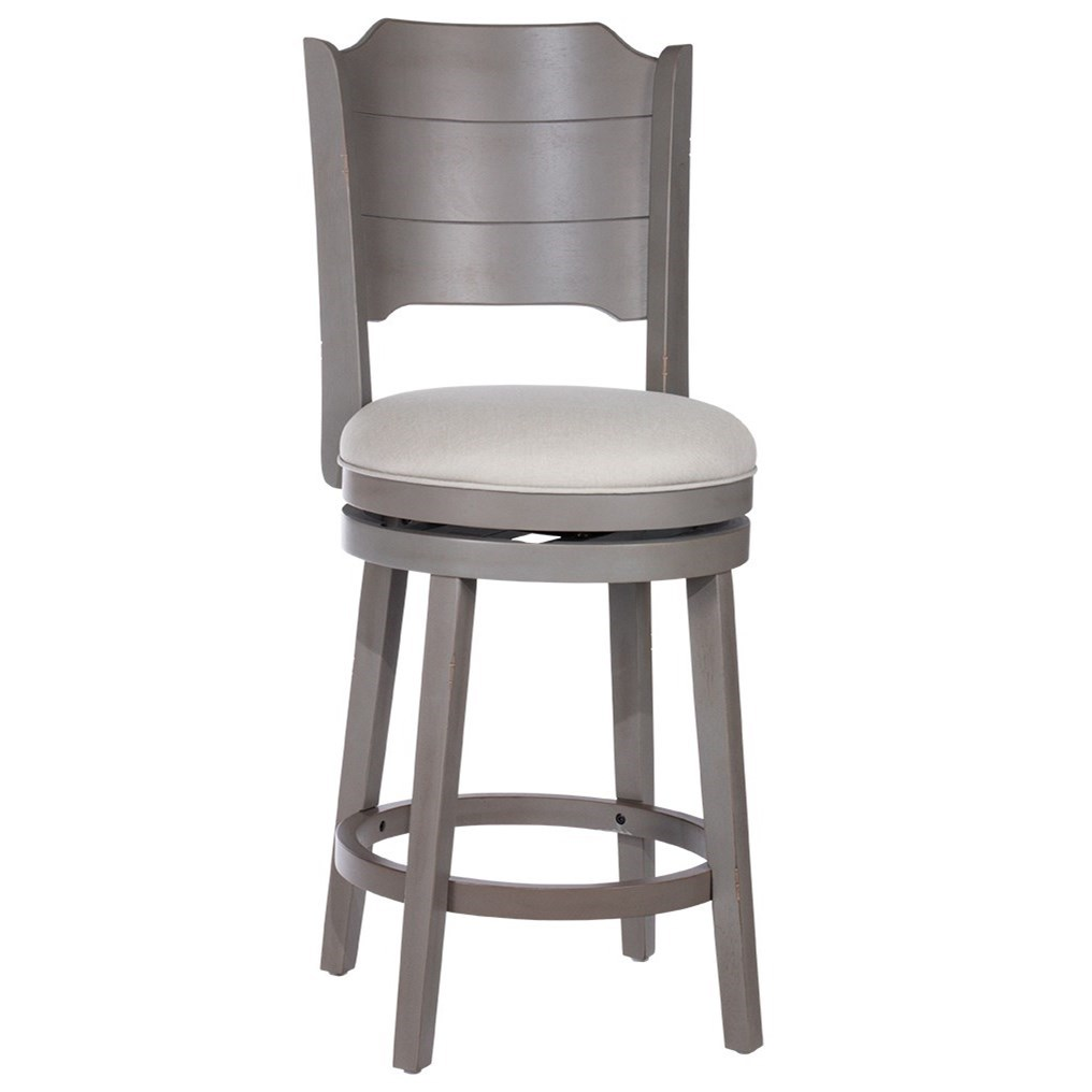 Clarion Swivel Bar Stool by Hillsdale at Crowley Furniture & Mattress