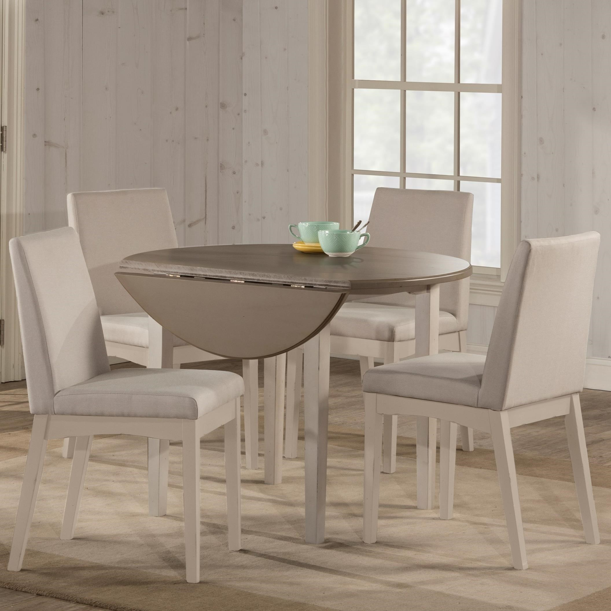 Clarion 5-Piece Dining Set w/ Drop Leaf Table at Ruby Gordon Home