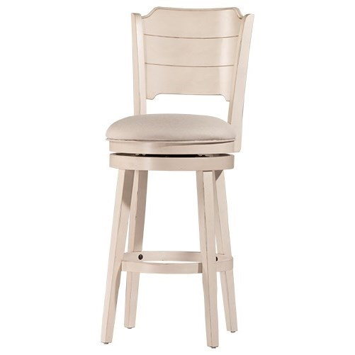 Clarion Swivel Counter Stool at Ruby Gordon Home