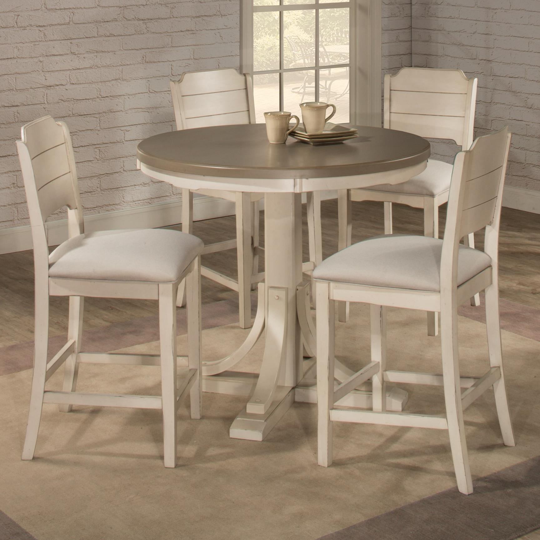 Clarion 5-Piece Counter Height Dining Set at Ruby Gordon Home