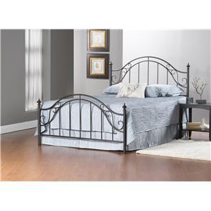Hillsdale Clayton Bed Set - Queen - w/Rails
