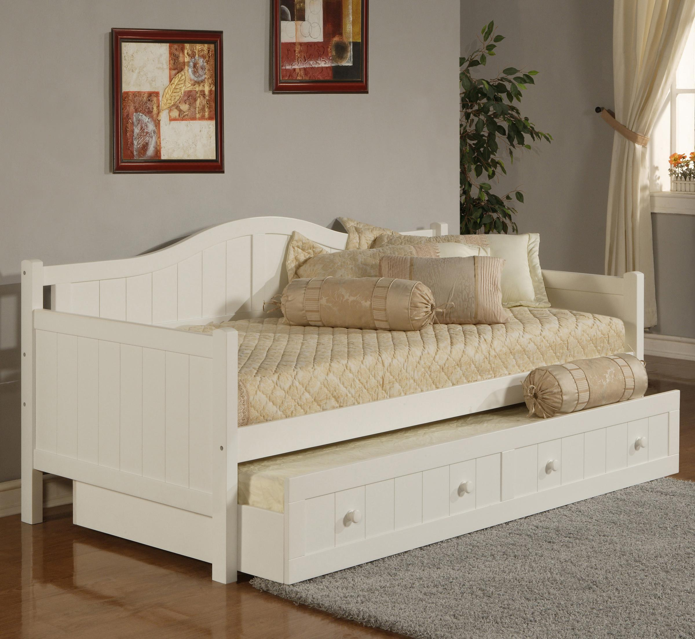 Daybeds Twin Staci Daybed with Trundle by Hillsdale at Johnny Janosik