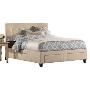 Hillsdale Duggan Queen 6 Drawer Storage Bed