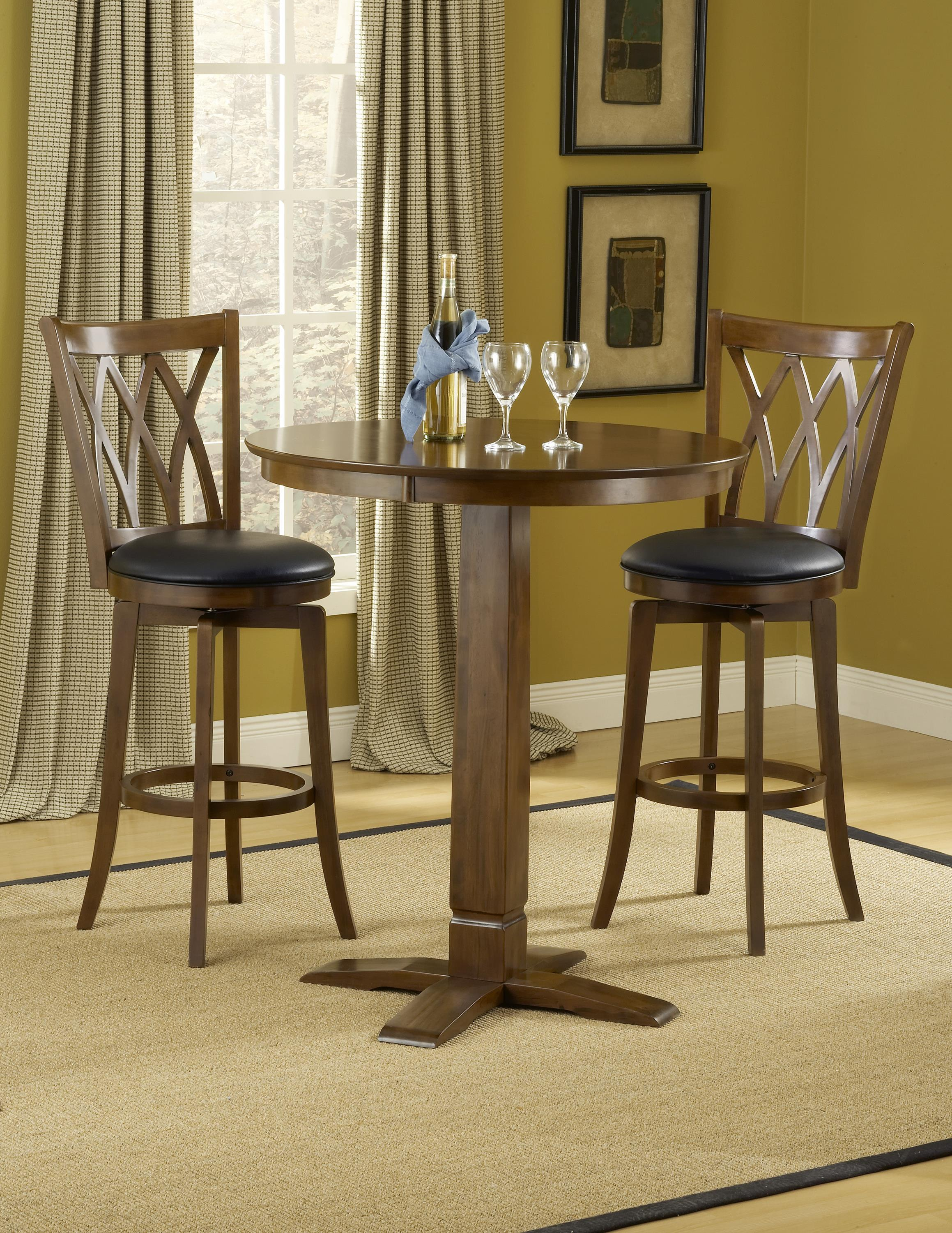 3-Piece Bar Table and Stool Set