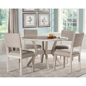 Round Dining Table Set with 4 Chairs