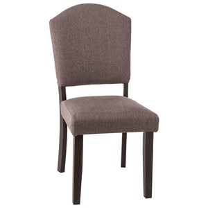 Parson Dining Chair with Upholstered Seat