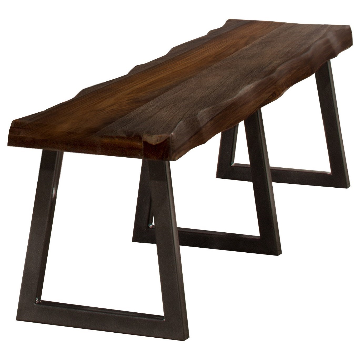 Emerson Natural Sheesham Bench  by Hillsdale at Johnny Janosik