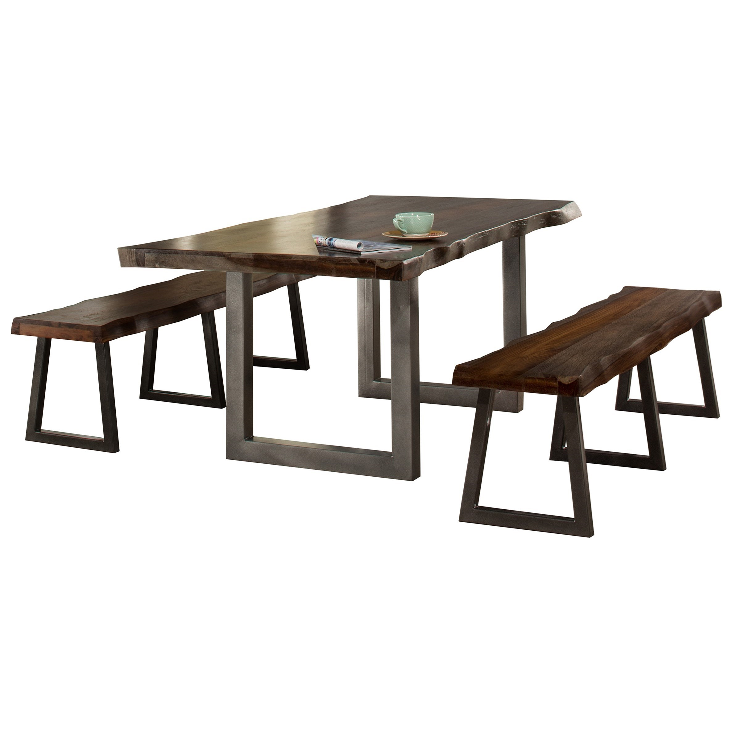 Emerson 3-Piece Rectangle Dining Set by Hillsdale at Mueller Furniture