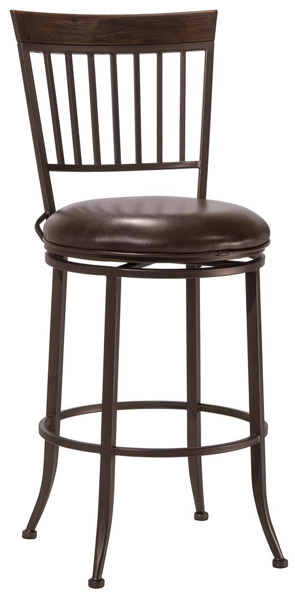 Hawkins Swivel Counter Stool by Hillsdale at Johnny Janosik