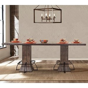 Counter Height Rectangle Table
