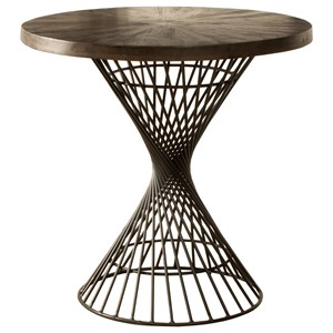 Contemporary Round Counter-Height Dining Table