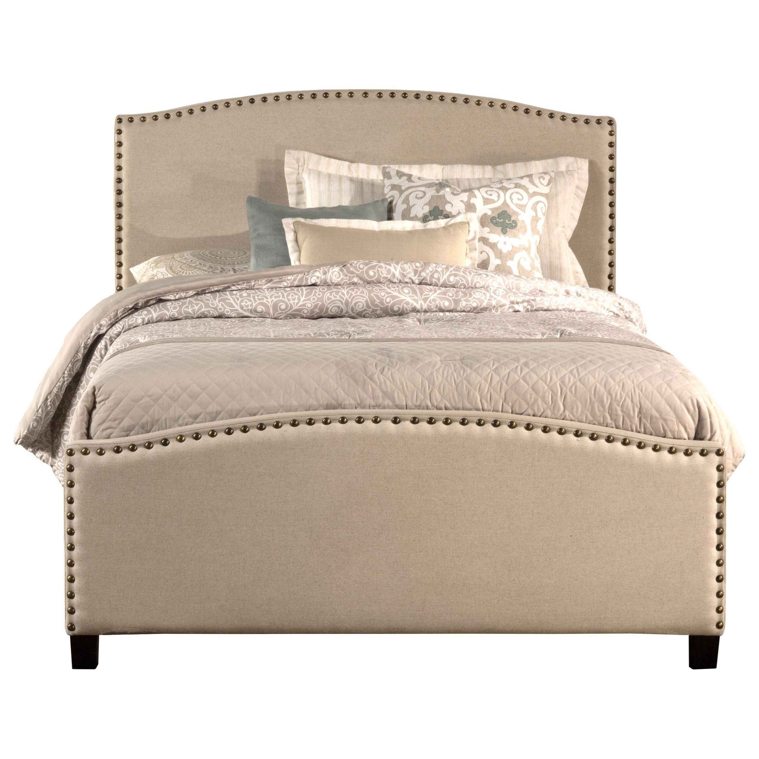Kerstein Queen Bed Set with Rails by Hillsdale at Mueller Furniture