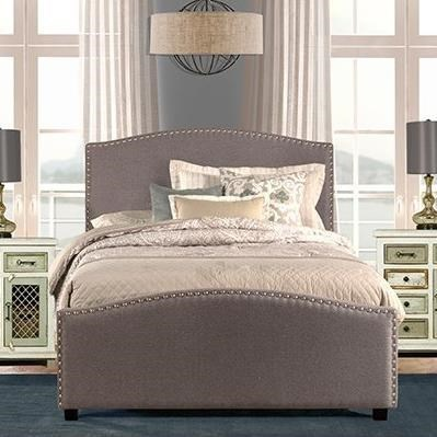 Kerstein King Bed Set with Rails at Sadler's Home Furnishings
