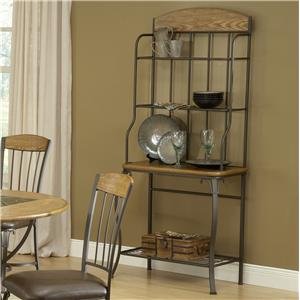 Hillsdale Lakeview Baker's Rack - Wood