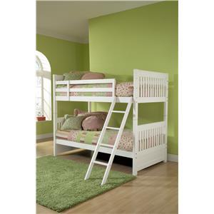 Hillsdale Lauren  Twin Bunk Bed