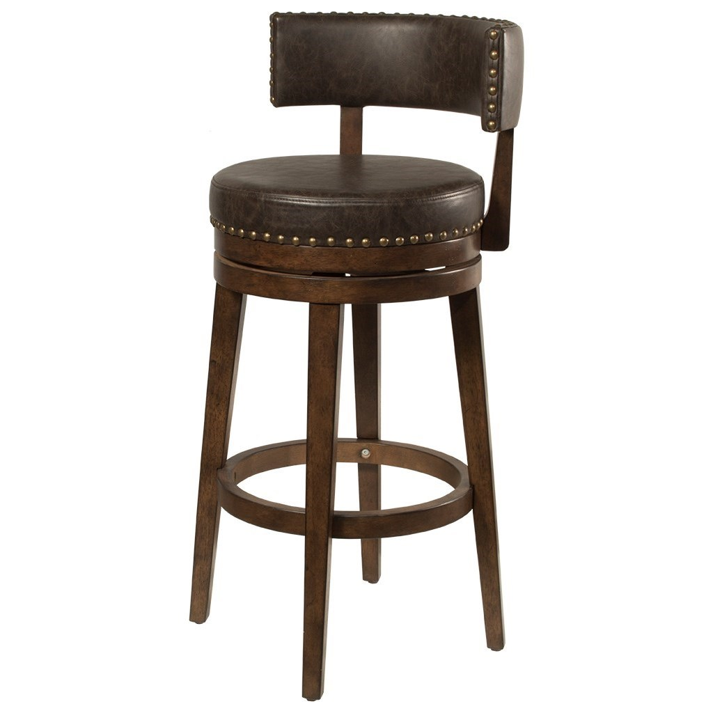 Lawton Swivel Counter Stool by Hillsdale at Johnny Janosik