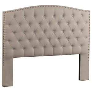 Queen Upholstered Headboard with Tufting