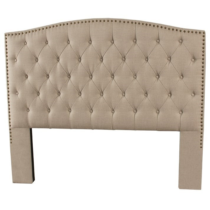 Lila Queen Upholstered Headboard  by Hillsdale at Steger's Furniture