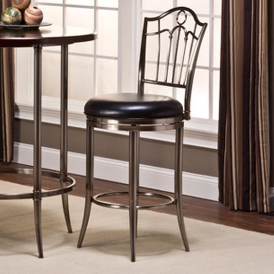 Maddox Portland Swivel Bar Stool by Hillsdale at Simply Home by Lindy's