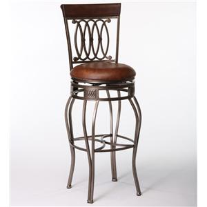 """28"""" Counter Swivel Stool w/ Upholstered Seat"""