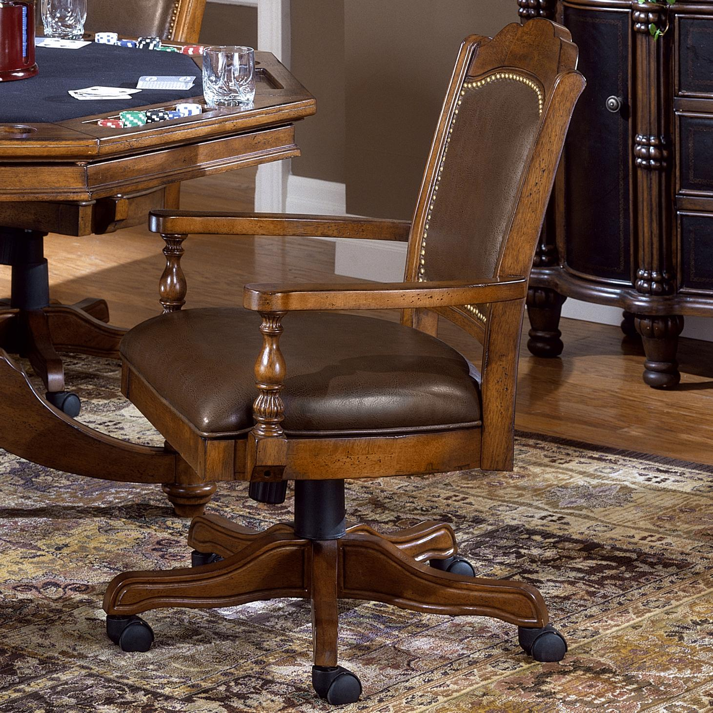 Nassau Tilt/Swivel Game Chair at Sadler's Home Furnishings