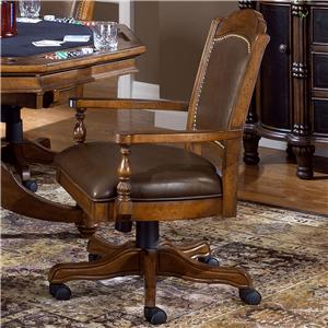 Tilt/Swivel Game Chair w/ Adjustable Height
