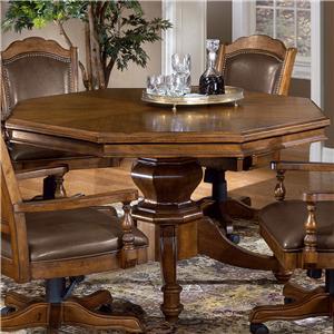Nassau Single Pedestal Game Table