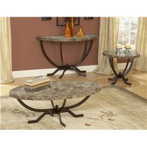 Monaco Coffee Table with Splayed Legs