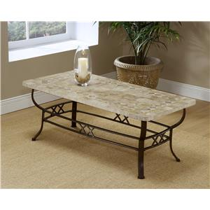 Hillsdale Occasional Tables Brookside Fossil Coffee Table