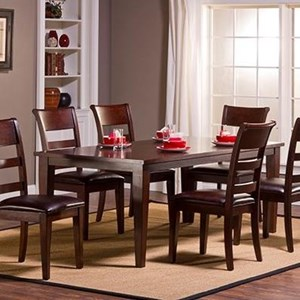 Hillsdale Park Avenue Leg Dining Table