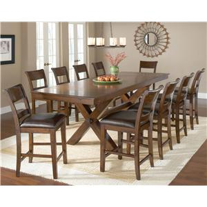 Hillsdale Park Avenue 11 Piece Pub Table