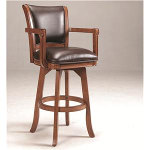 Hillsdale Park View Swivel Bar Stool