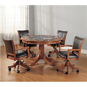 Five Piece Gaming Lift-Top Table and Chair Set