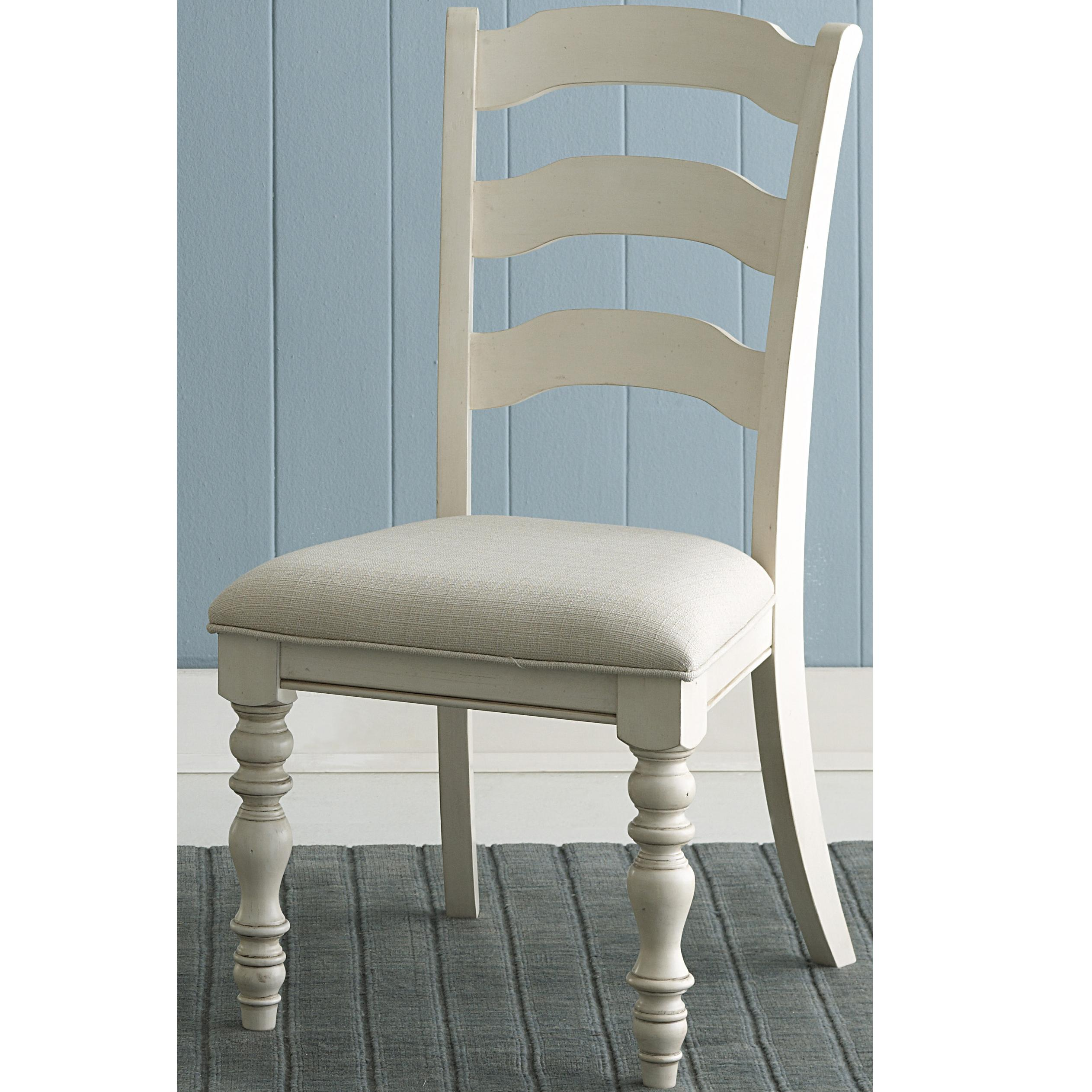 Pine Island Ladder Back Side Chairs by Hillsdale at Mueller Furniture