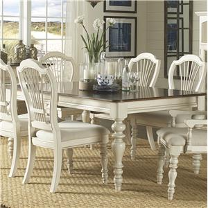 Hillsdale Pine Island Dining Table