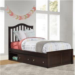 Twin Bed w/ Storage
