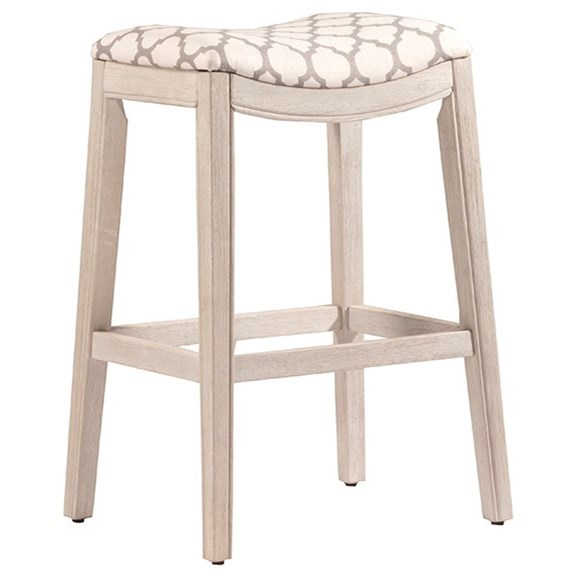 Sorella Saddle Counter Stool by Hillsdale at Northeast Factory Direct