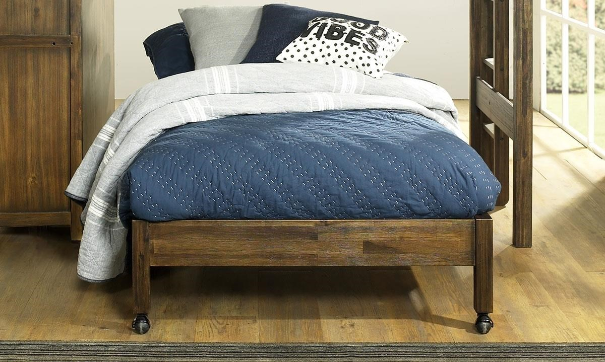 St. Croix Full Castered Bed For Loft Bed by Hillsdale at Darvin Furniture
