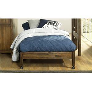 Full Castered Bed For Loft Bed